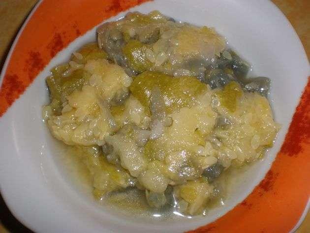calabacinesca - Salsa de calabacines