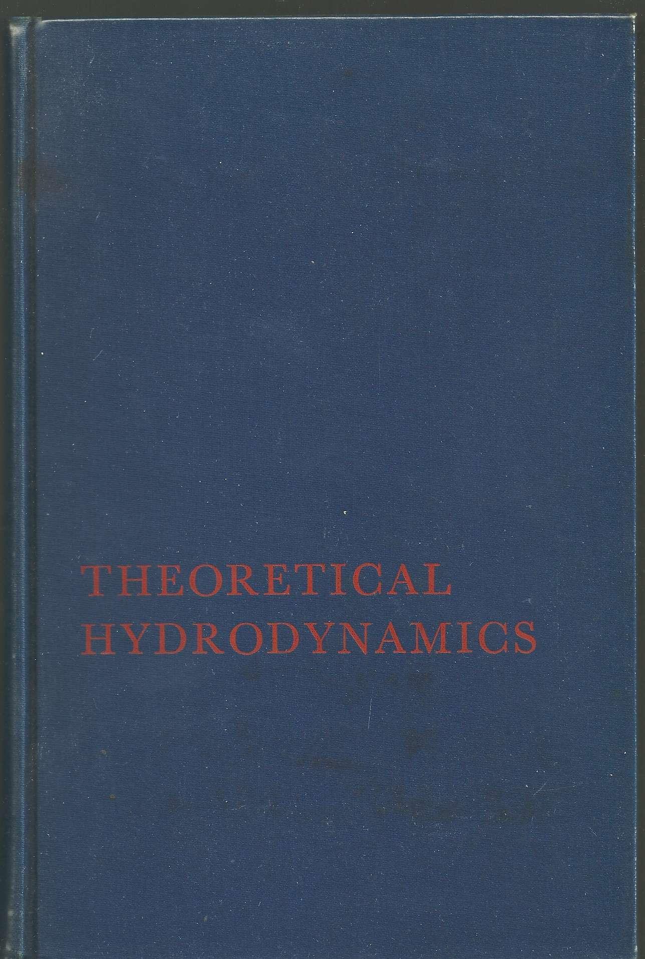 Theoretical Hydrodynamics. 4th Ed