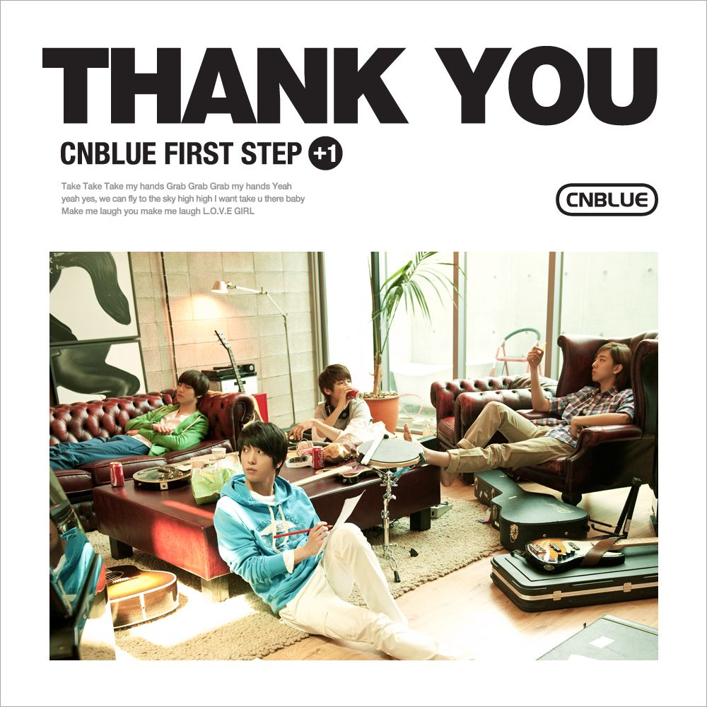 [Mini Album] C.N BLUE   First Step + 1 : Thank You