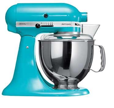 Kitchenaid impastatrice robot da cucina artisan cromato 4 for Kitchenaid artisan prezzo