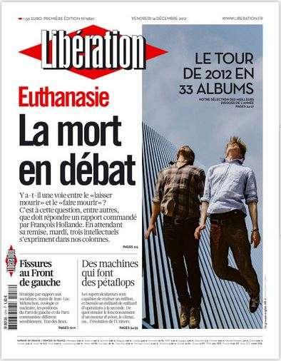 Libération Vendredi 14 décembre 2012