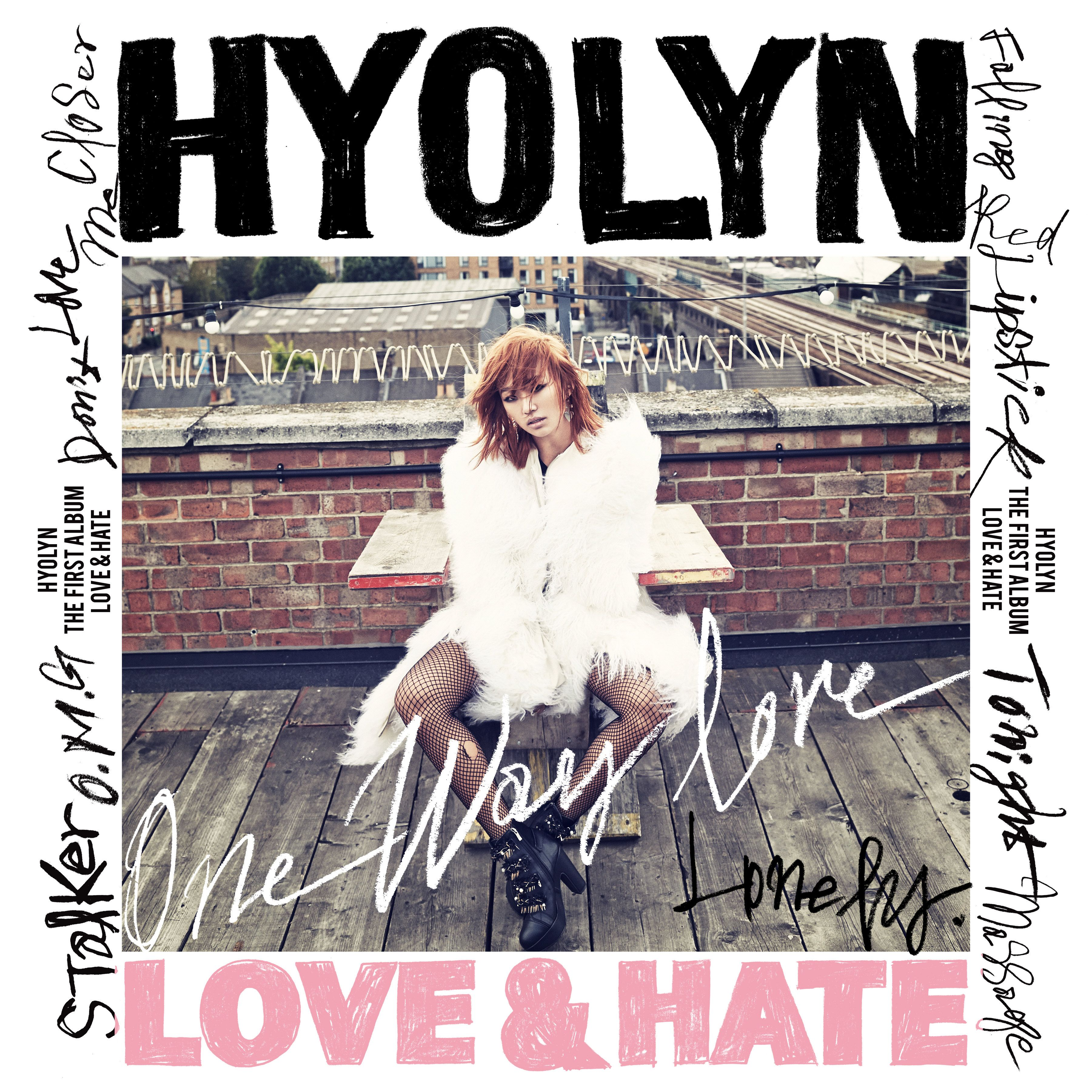 (Album) HYOLYN (SISTAR) - LOVE & HATE (VOL. 1)