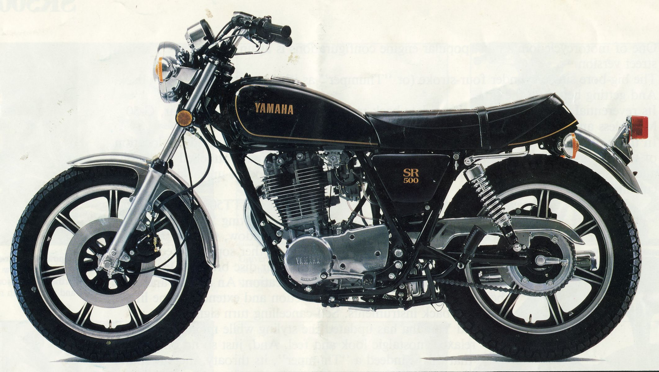 Yamaha SR500 & SR400 Forum • View topic - My SR Cafe project ...