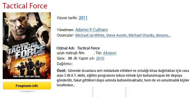 tactical force 2011 türkçe dublaj izle