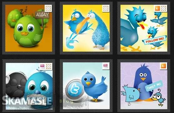 iconos twitter