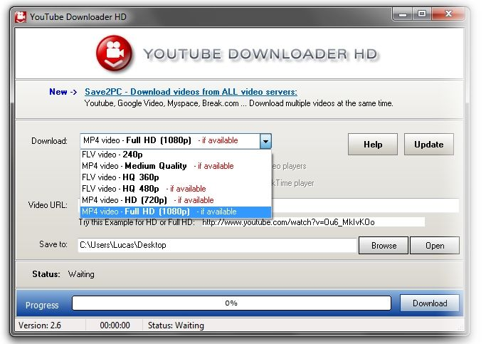 Youtube Downloader HD 2.9.9.4